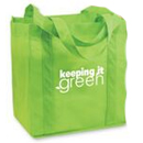 Recyclable Grocery Tote Bag